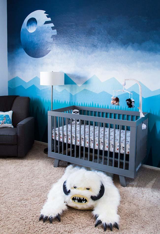 Decoração de quarto de bebê menino