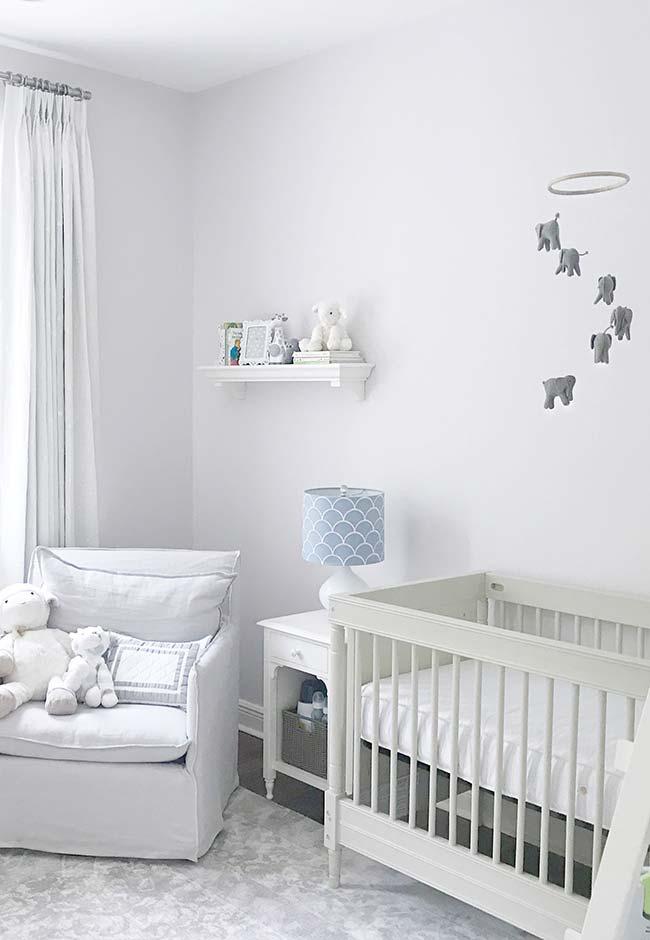 Decoração quarto de bebê masculino simples