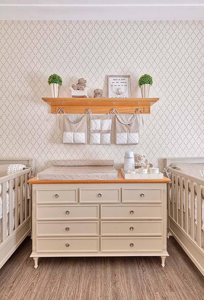 Decoração de quarto de bebê masculino para gêmeos