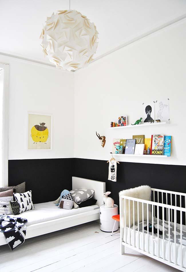 E para quem quer decorar um quarto no estilo Montessoriano, uma ideia simples e super confortável