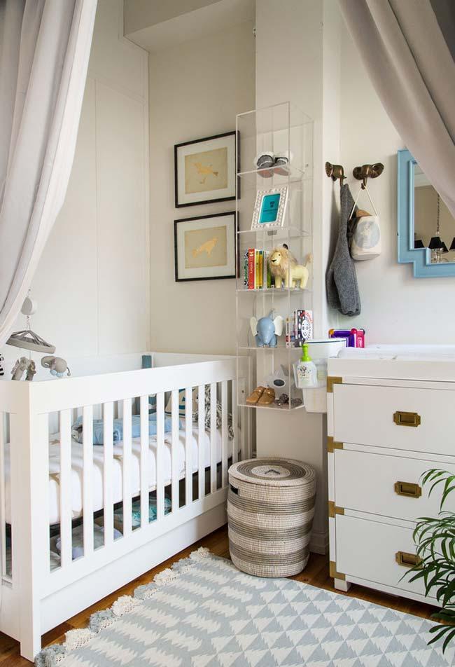 Pense também nas especificidades do quarto antes de decorar
