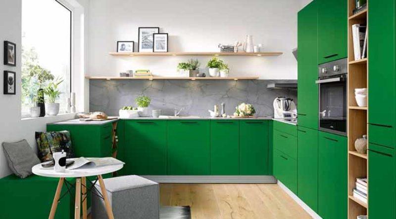 Cozinha verde: 55 ideias para você se inspirar na decoração