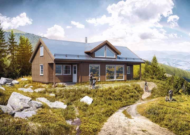 As casas de madeira são tão resistentes quanto as de alvenaria, desde que a matéria prima tenha procedência confiável