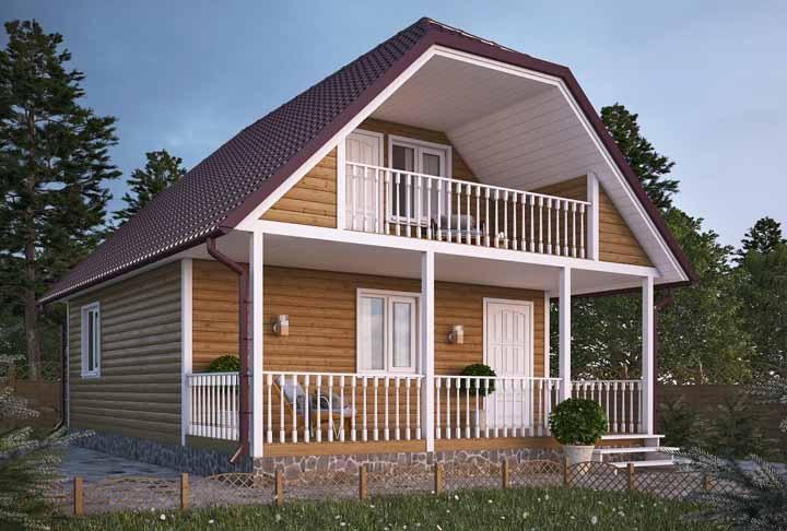 Se for de madeira já é ótimo, se tiver varanda então, melhor ainda