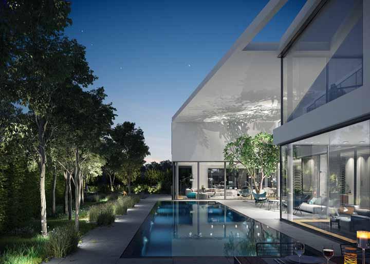 Combine plantas com água e você terá uma casa bonita, linda, de arrasar!