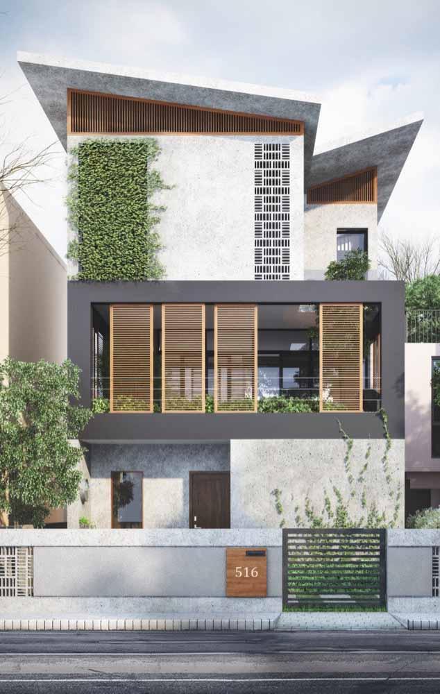 """Plantas trepadeiras podem ser aquele """"q"""" a mais que estava faltando para deixar a fachada da sua casa linda"""