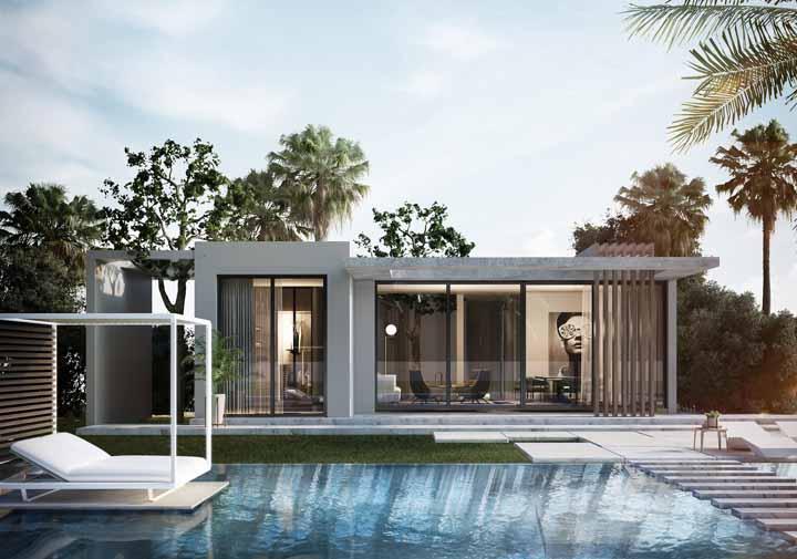 Uma casa bonita não precisa ser grande; essa da imagem é um exemplo perfeito