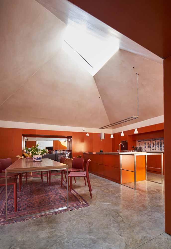 Cozinha de luxo em tons terrosos: se inspire nos ambientes glamorosos do mediterrâneo para um ambiente como este
