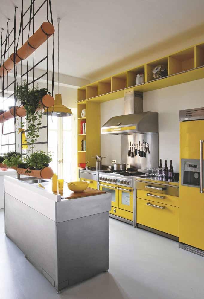 Natural e sem perder o luxo: porque ter uma hortinha orgânica de temperos dentro da cozinha é charmosíssimo