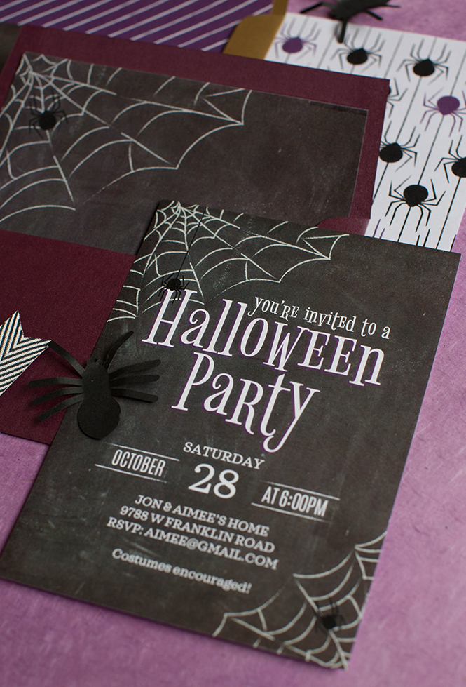 Festa de halloween em grande estilo: use a criatividade na hora de montar o seu convite