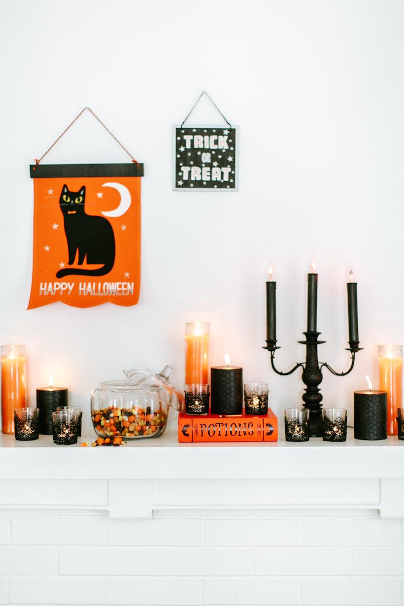 Se inspire no preto e laranja para celebrar este feriados das bruxas
