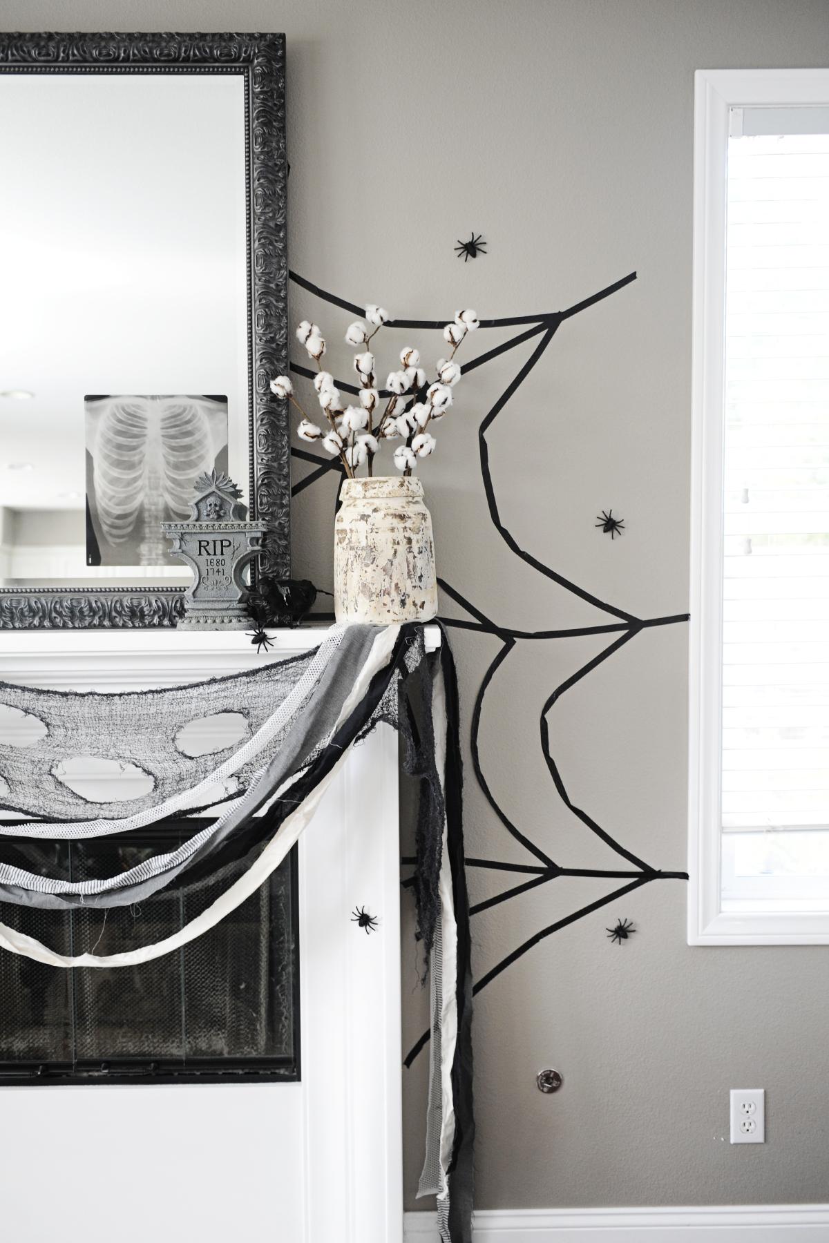 Faça uma decoração temática nos cantinhos da sua casa, para entrar completamente no clima halloween