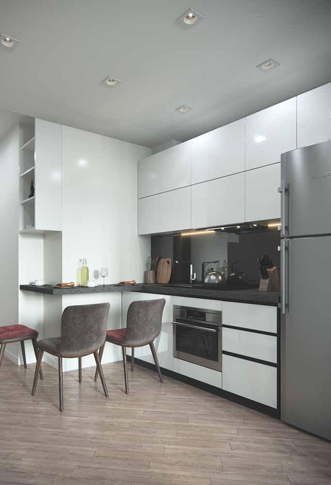 Na decoração use paredes como melhor amiga, além de ganhar mais espaço fica ótimo para o visual