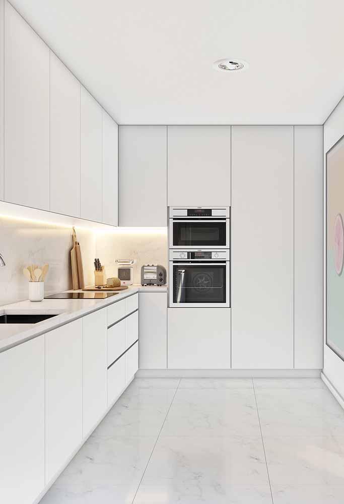 Para quem gosta de uma decoração minimalista essa é uma ótima opção