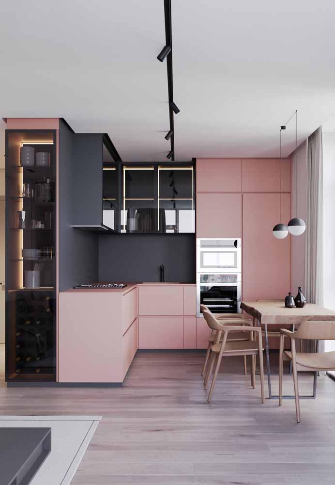 Sem paredes para interagir com outros cômodos também é uma decoração mais procurada para quem tem pouco espaço