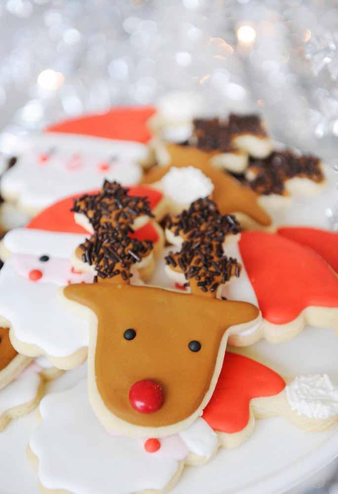 Enfeites comestíveis para decorar a mesa de natal