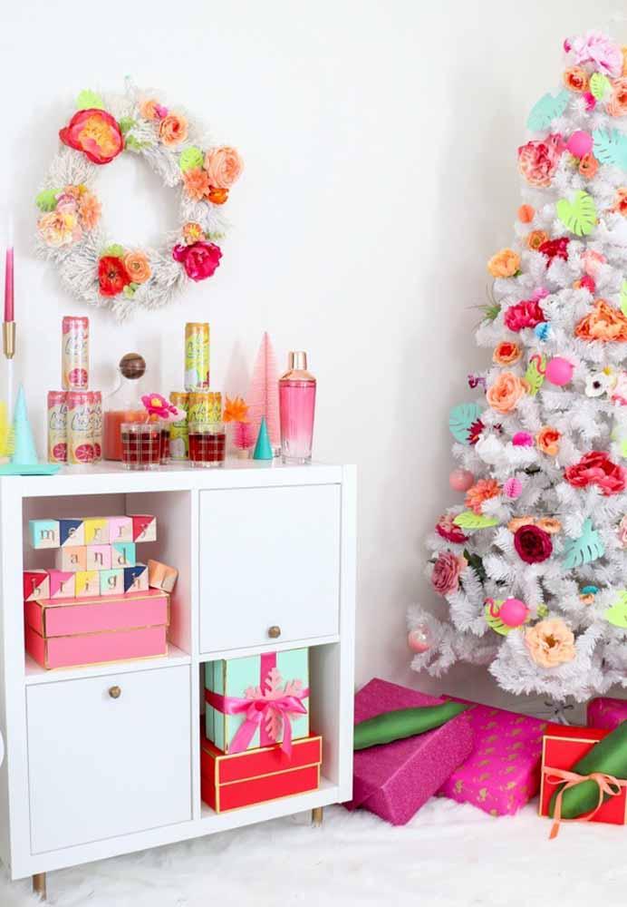 Vamos fazer um natal totalmente colorido?