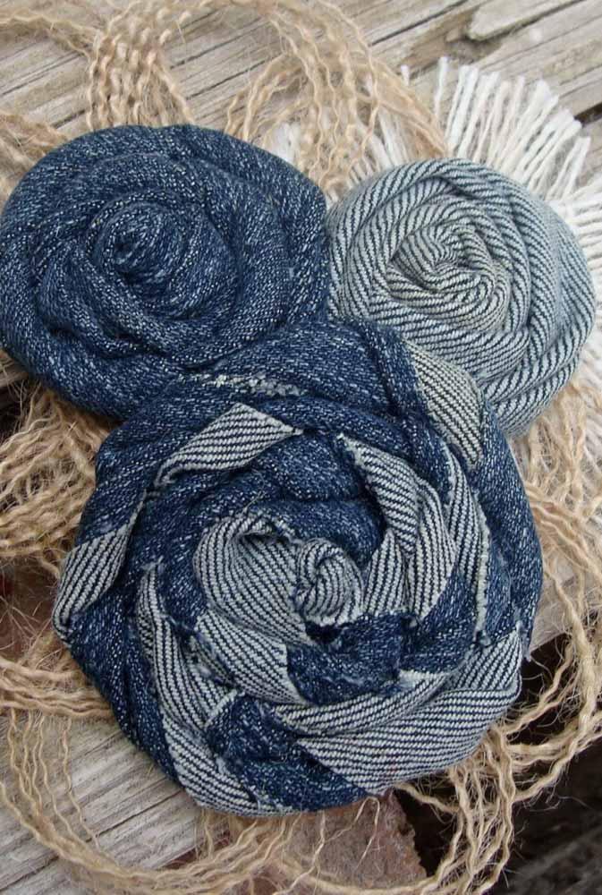 Ou estas aqui, em tons e padrões azuis