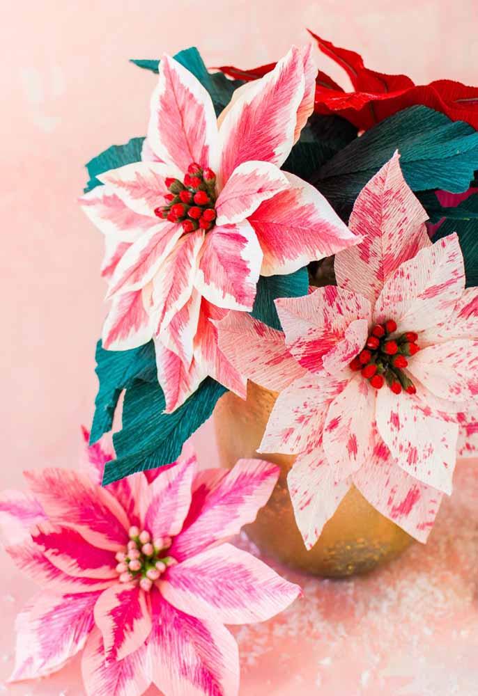 Crepom para mais flores incríveis de papel