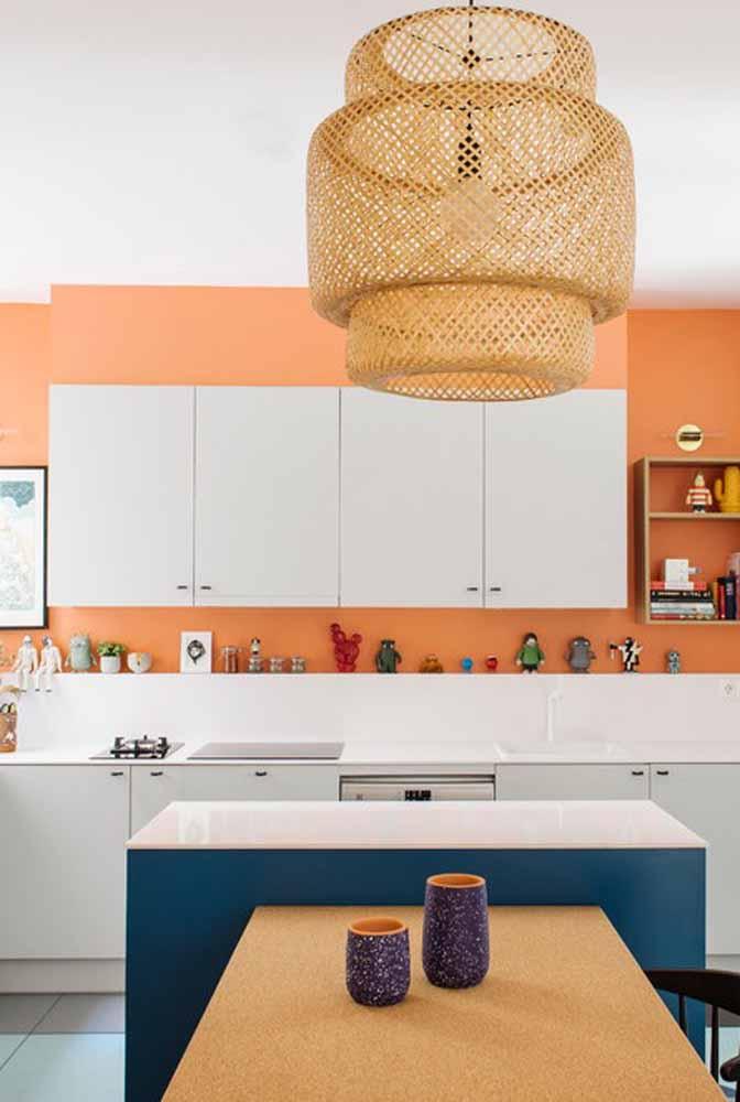 Modelo de cozinha em ilha: harmonize as cores e obtenha um resultado incrível!