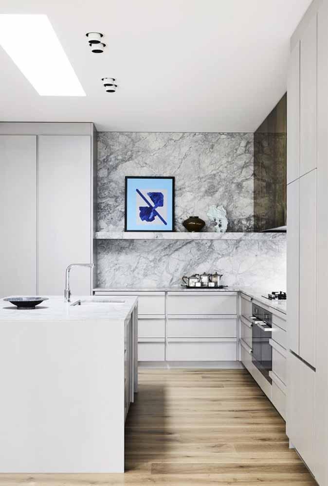 Menos é mais: uma dica de modelo para cozinha minimalista