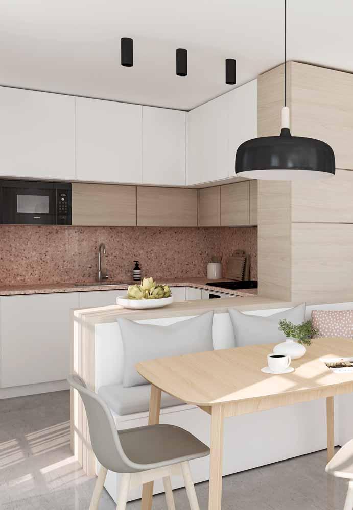 Use a ilha de sua cozinha gourmet como sofá: aproveitamento dos espaços, sofisticação e criatividade!