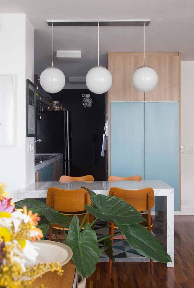 Cozinha gourmet compacta: para os chefs que gostam de espaços aconchegantes