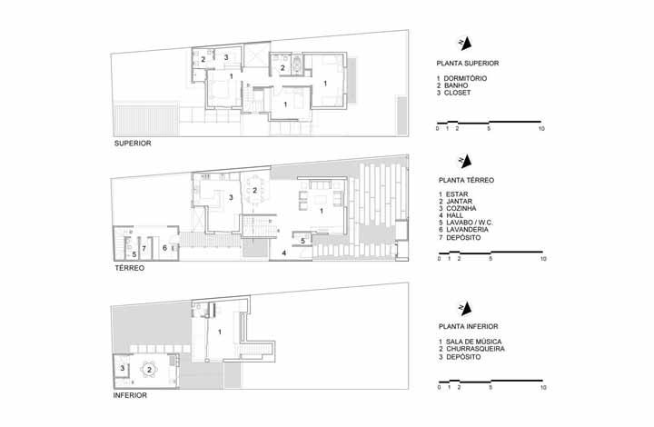 Planta baixa da Rocco Arquitetos feita para atender necessidades especificas dos moradores