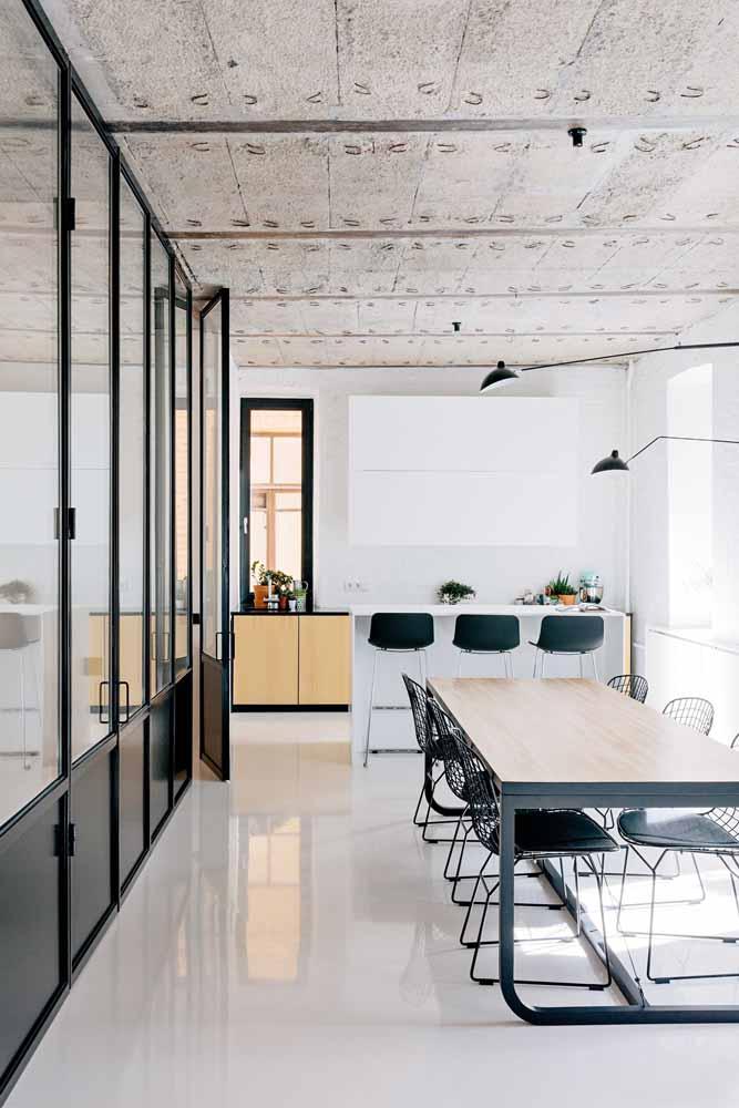 Um piso que brilha sem precisar lustrar