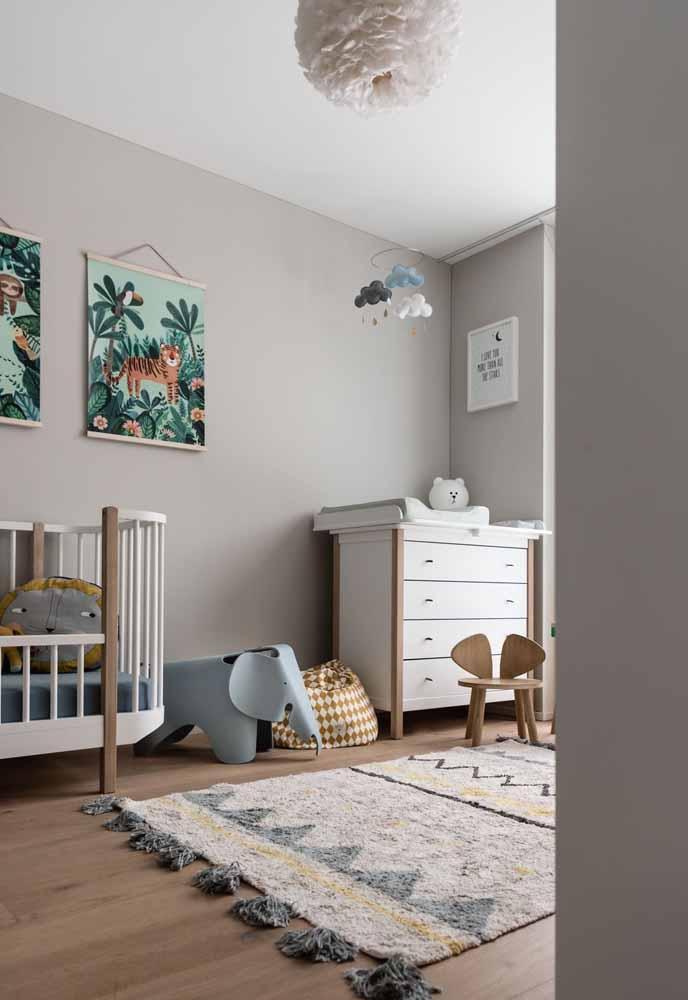 Os animaizinhos que sempre compõem um quarto incrível para os bebês estão aparecendo em diversos formatos e objetos atualmente