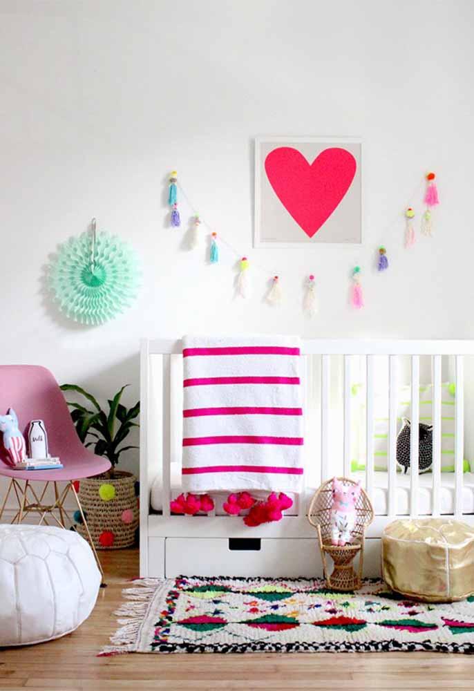 Decoração de quarto de bebê faça você mesmo: os itens artesanais são ótimos para decorar o quarto com mais personalidade e sob medida!