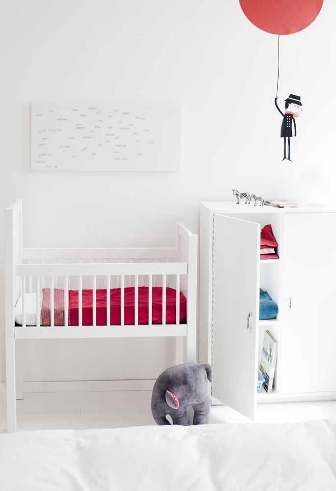 Uma paleta básica para um quarto de bebê simples e cheio de sutilezas