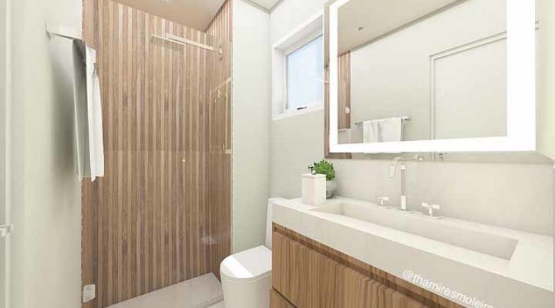 Banheiros simples: veja 50 projetos para decorar gastando pouco