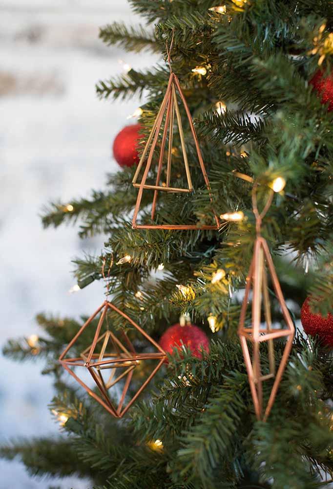 E outros delicados para colocar na árvore