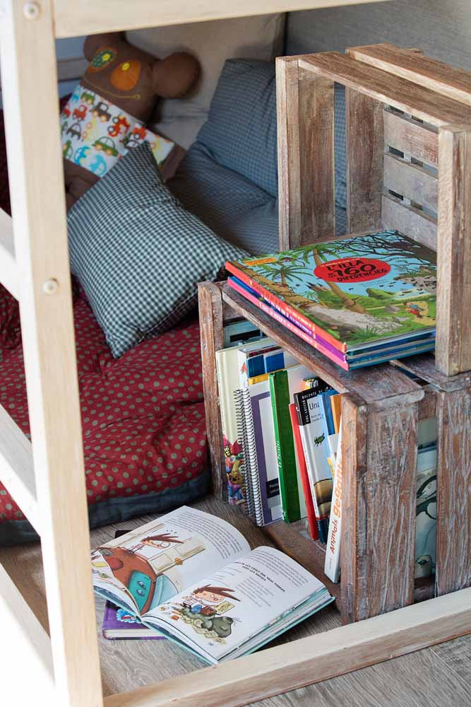 Deixe os livros ao alcance dos seus filhos