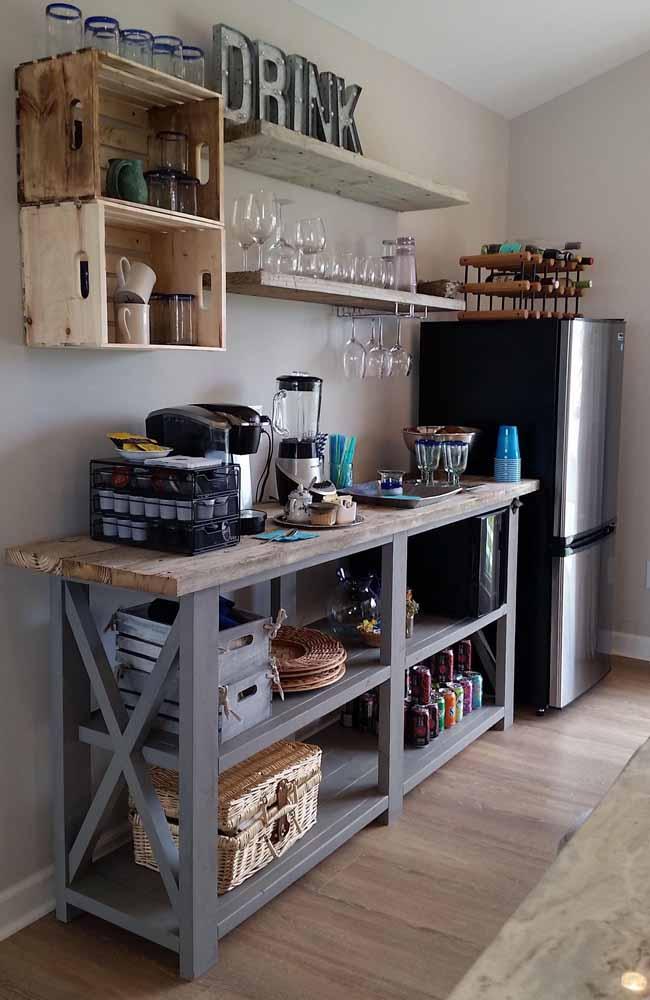 Cozinha reciclada