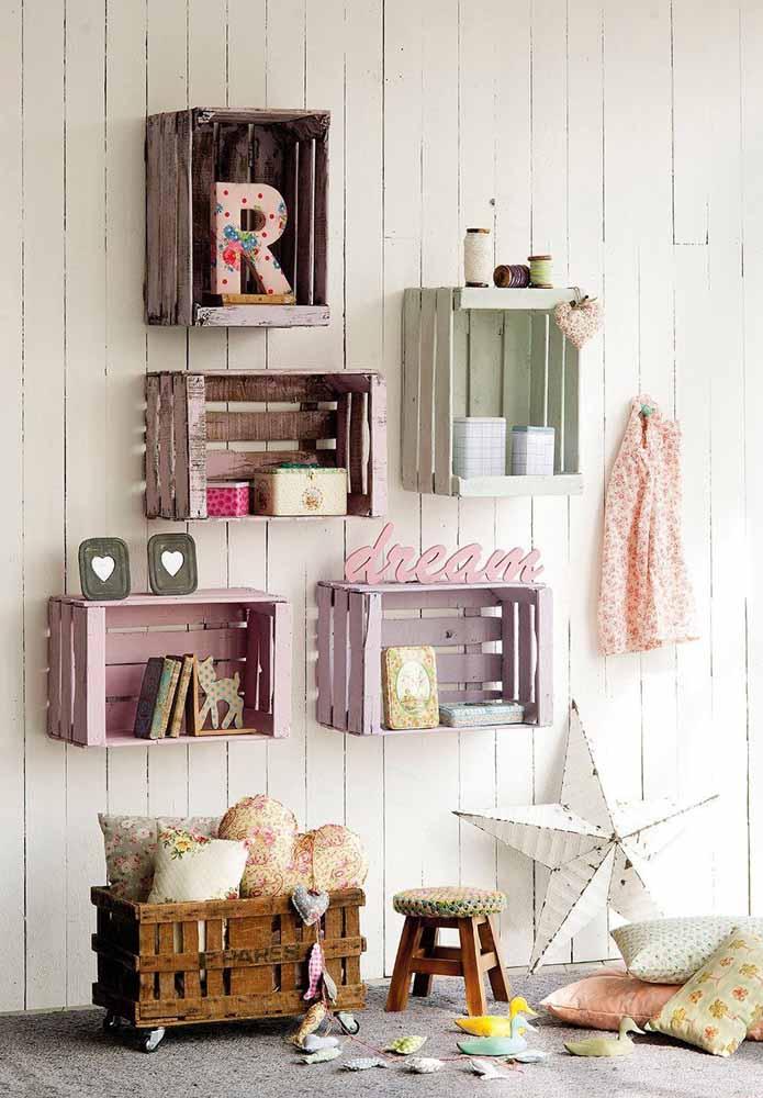Faça uma decoração fofa para o quarto das crianças