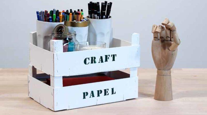 Caixote de feira na decoração: veja tutoriais, ideias e como fazer