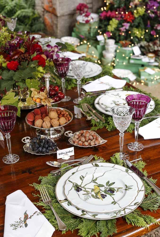 Nozes, uvas e avelã são algumas das frutas que já fazem parte da ceia de natal