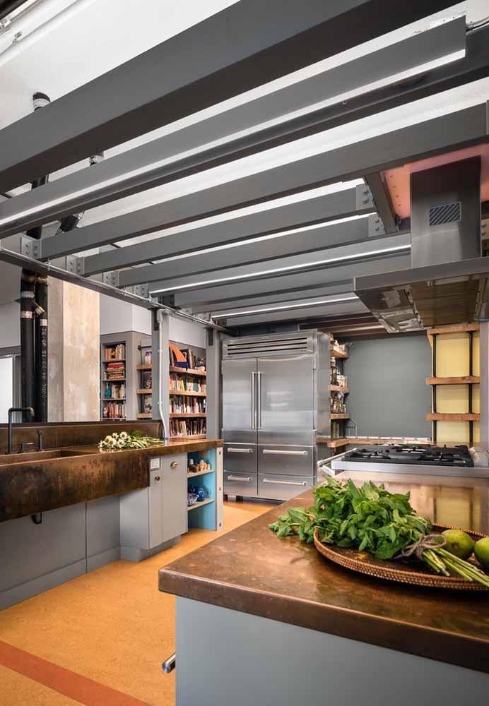 Olha como essa cozinha ficou totalmente versátil
