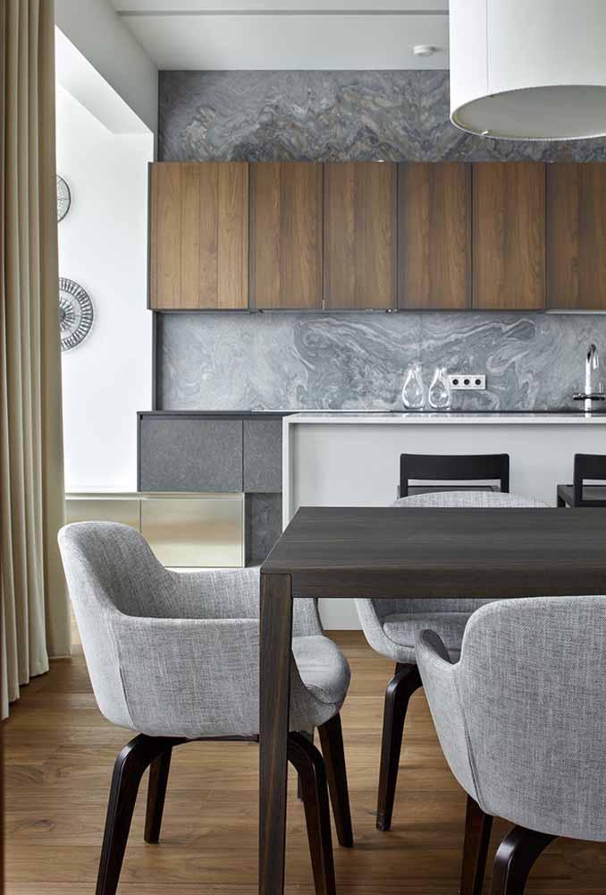 Uma parede decorada pode fazer a grande diferença na decoração da cozinha