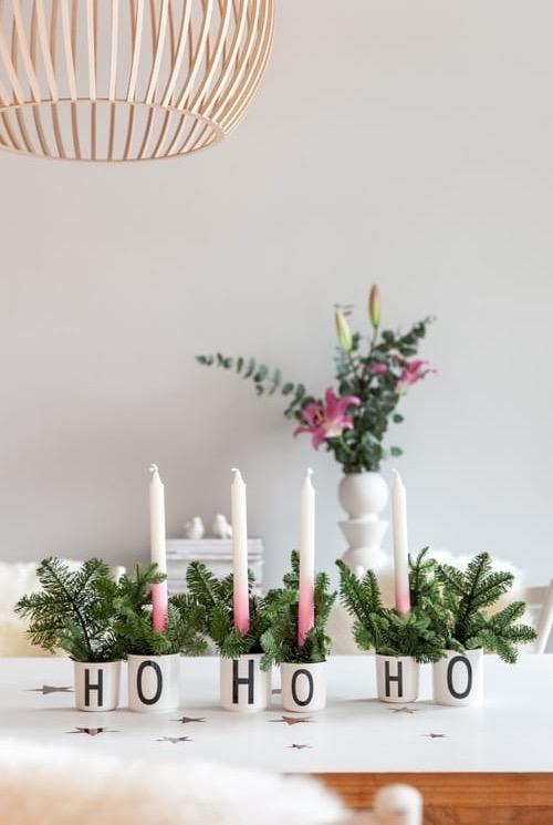 Você também pode uma decoração de Natal comestível. Não há quem resista!