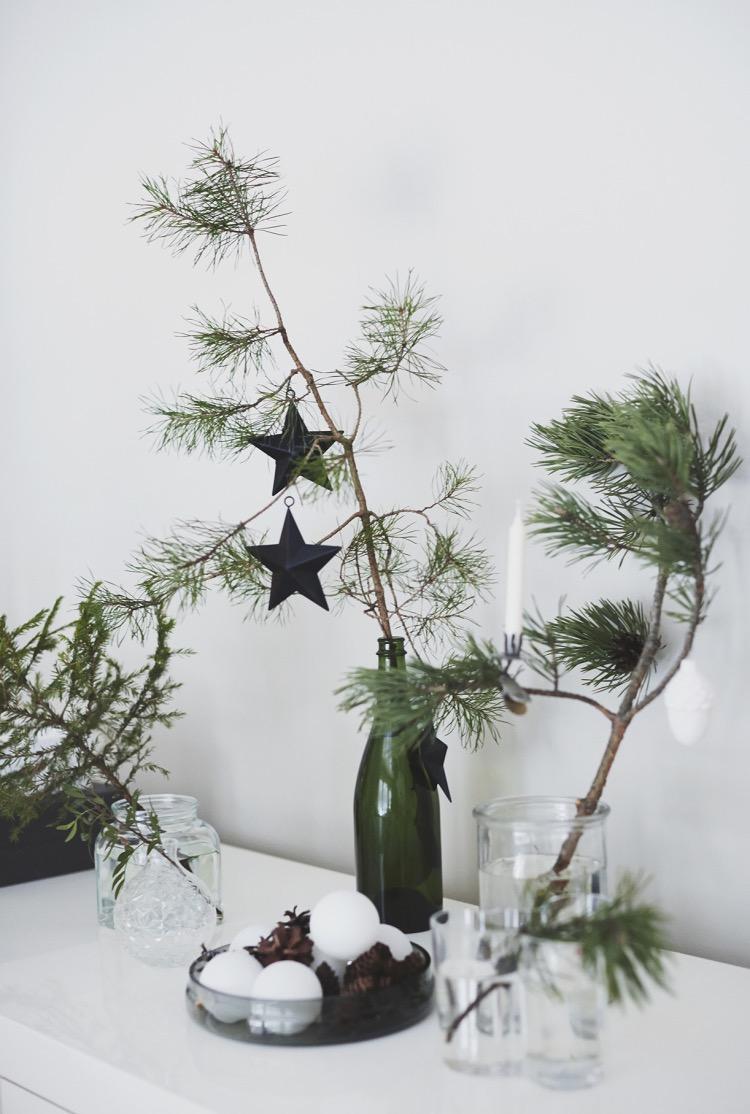 Para decorar a cozinha combine a cor das árvores com as frutas