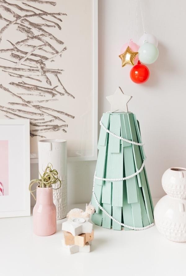 Decoração rústica para celebrar o natal