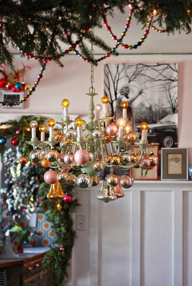 Os enfeites de Natal também vão dentro das bebidas