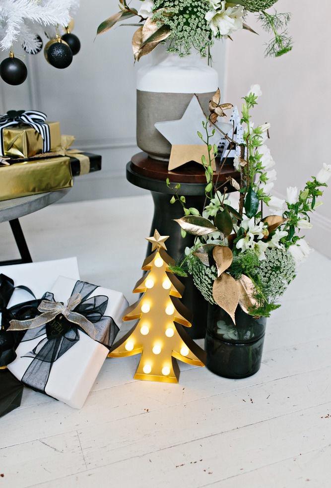 Que tal variar os tipos de velas na decoração de natal?