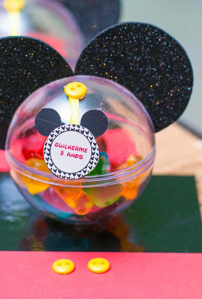Gastando pouco você consegue fazer uma festa temática do Mickey