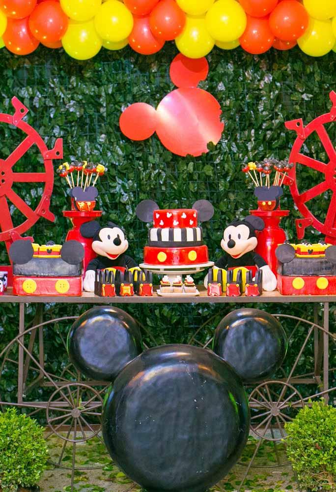 Que tal apostar no tema Mickey na floresta?