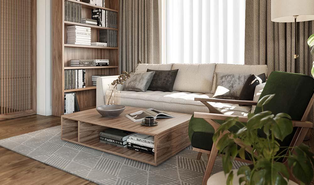 Como escolher o tapete para sala de estar