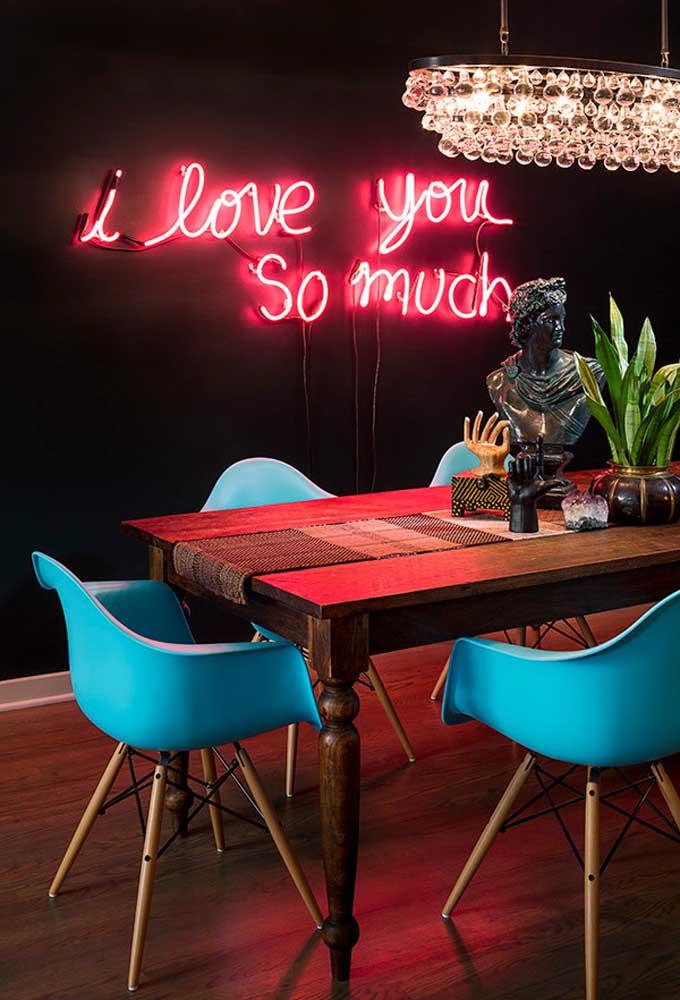 Faça uma decoração moderna e ao mesmo tempo, romântica